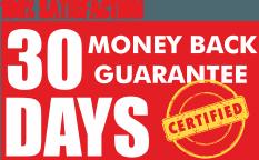 30 days moneyback